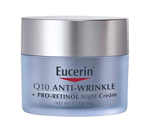 41rhlQytrLL - Eucerin Q10 Anti-Wrinkle Face Night Cream, 1.7 Ounce