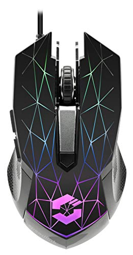 RETICOS RGB Gaming Mouse, Black