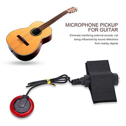 Alomejor Pastillas de Guitarra Universal Transductor Piezoeléctrico de Guitarra Pastilla para Instrumentos de Violín Ukelele