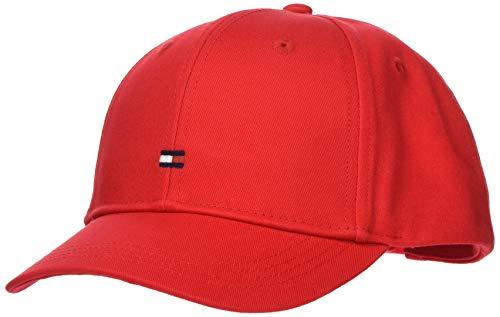Tommy Hilfiger Baby-Jungen Bb Cap Hut, Red, S