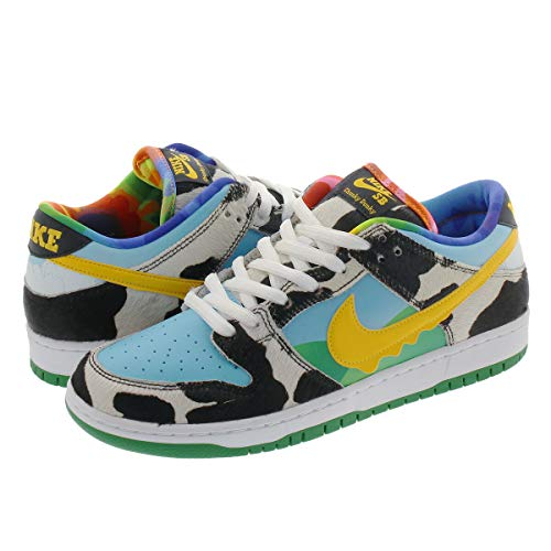 [ナイキ] SB DUNK LOW PRO QS BEN & JERRY'S WHITE/LAGOON PULSE/BLACK/UNIVERSITY GOLD 【CHUNKY DUNKY】 US8.5-26.5cm [並行輸入品]