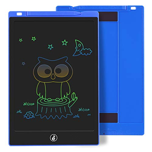 Kids Drawing Writing Boards LCD Writing Tablet, 10 Inch Electronic Colorful Screen Doodle Scribbler Board Writing Pad for Kids and Toddlers at Home, School and Kindergarten (Blue)