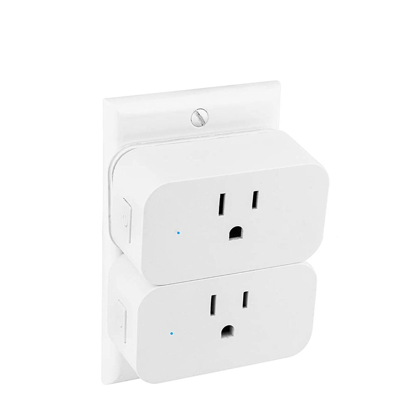 Smart Plug-Horsky 2.4 G Wifi Socket Remote Control Light Timer Compatible with Alexa Echo Google Home 2 Pack