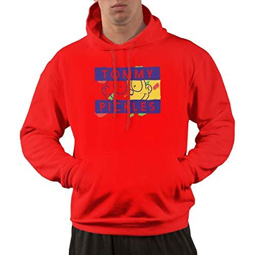 Tengyuntong Hombre Sudaderas con Capucha, Sudaderas, Men's Pullover Hooded Sweatshirt - Tommy