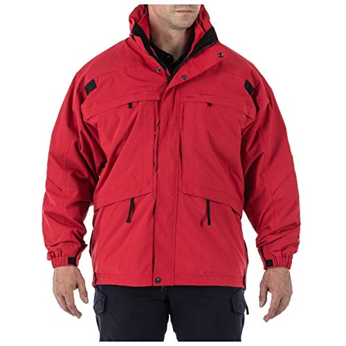 5.11 Tactical 3 in 1 Parka Jacket - Range Red - Small