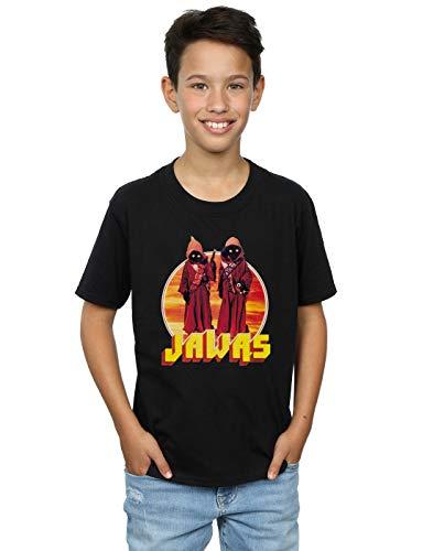 Star Wars Jungen A New Hope Jawas T-Shirt 5-6 Years Schwarz
