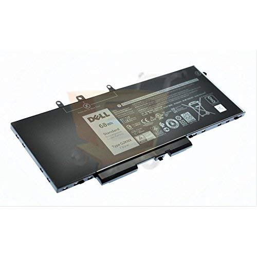 Genuine Battery for Dell Latitude 5480 5580 Precision 15 3520 68Wh 7.6V Battery KCM82 0KCM82