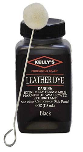 4 Oz. Kelly Cobbler Leather Dye Dark Brown By Fiebing