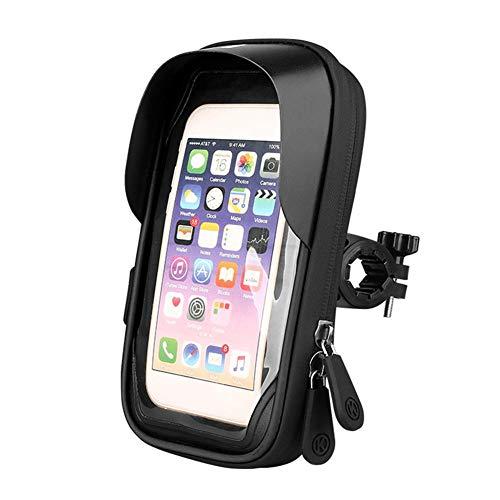 ruist-eu Fiets mobiele telefoon houder tas TPU touchscreen draagtas 360  ° rotatie stofdichte waterdichte tas voor 4,5-6,4 inch smartphone