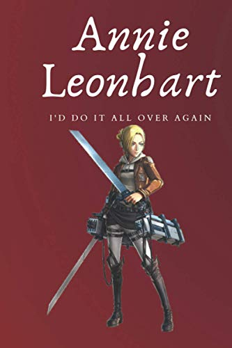 Annie Leonhart Notebook: Attack on titan notebook journal 6×9 inch 120...