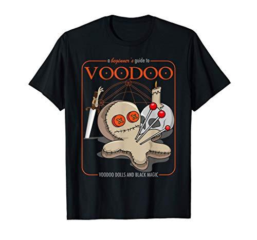 Un Principiante Guía Para Vudú De Miedo Vudú Muñeca Magia Camiseta