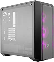 Cooler Master MasterBox Pro 5 RGB ATX Mid-Tower with Three 120mm RGB Fans, Front DarkMirror Panel, Tempered Glass, RGB Splitter Cable & RGB Lighting System