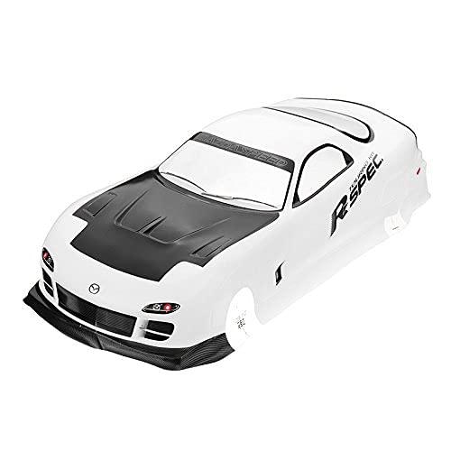 Ellenbogenorthese-LQ Parti di Ricambio RC 210X460Mm Body Shell Mazda RX-7 EP 016 # per 1/10 On Road Drift Rc Car Parts