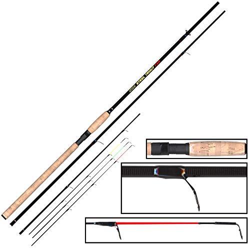 FTM 3m 6-25g Steel Trout FXR - Forellenrute zum Schleppangeln, Rute zum Forellenfischen, Sbirolinorute für Forelle, Angelrute für Sbirolinos & Bombarden