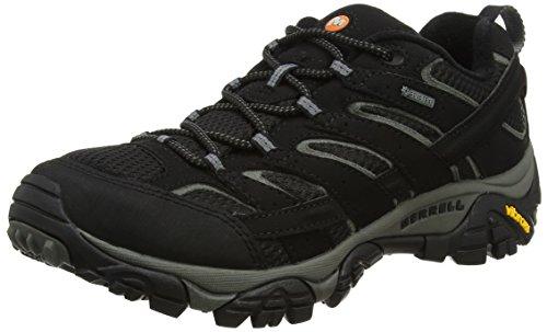 Merrell Moab 2 Gtx, Stivali da Escursionismo Uomo, Nero (Black), 43 EU