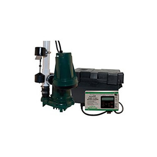 Zoeller 508-0007 Aquanot 508 ProPak98 Preassembled Sump Pump System with Battery Back-Up