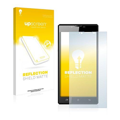 upscreen Entspiegelungs-Schutzfolie kompatibel mit Archos 55 Platinum – Anti-Reflex Bildschirmschutz-Folie Matt