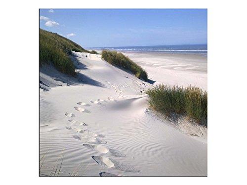 kunst-discounter A06271 - Quadro da Parete su Tela, Motivo: Costa sulla Spiaggia