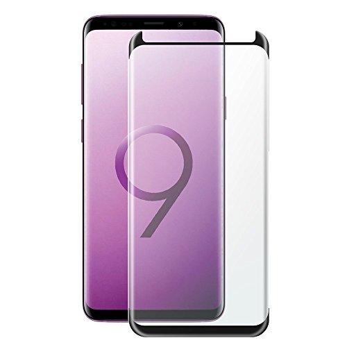 AJ-cover Displayschutz für Samsung Galaxy S9 Full Cover 3D Panzerglas Case Fit, hüllenfreundlich, superhart, passgenau mit kompletter Abdeckung
