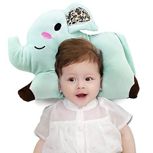 coussin bébé,anti tete plate,matelas anti reflux,coussin orthopedique,plagiocéphalie,morphologique bebe,concave oreiller,Petit oreiller de stéréotypes pour bébé de style éléphant Coussins de bébé