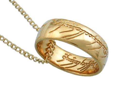 Lord of the Rings Officially Licensed, Frodo's One Ring of Power Pendant