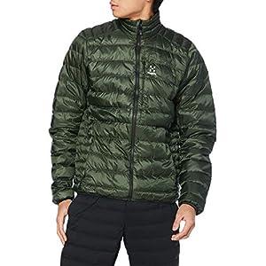 [ホグロフス] 軽量、撥水ダウン ロック ダウン ジャケット Roc Down Jacket Men メンズ Fjell green UK L (日本サイズXL相当)