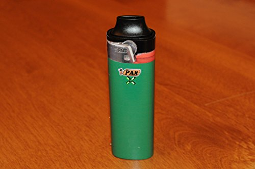 Forest Green Lighter decal for PAX 1 vaporizers - glossy vinyl sticker