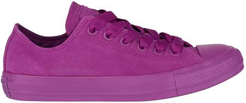 Converse Chuck Taylor All Star Low Top Suede Mono color purple Purple