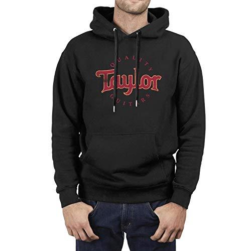 Men Quality-Taylor-Guitars-Music-Mini-bass- Fleece Wool Warm Hoodie Sweatshirt Casual Pullover Hoodie