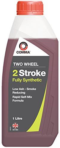 Comma TSTFS1L synthetische motorolie voor 2-takt en tweewielers 1 L