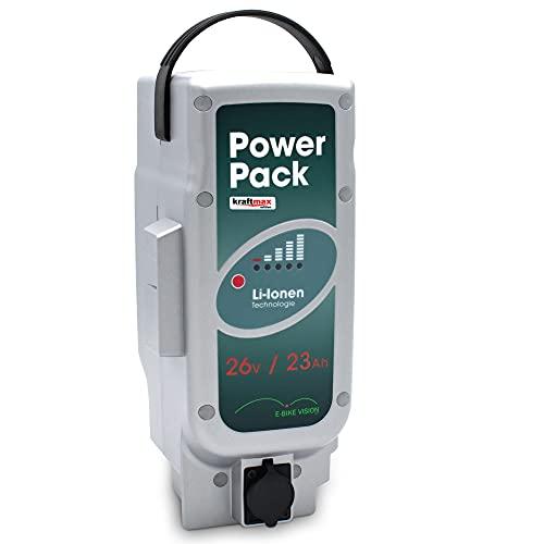 kraftmax E-Bike Vision Power Pack Akku für Panasonic ebike System 26V / 23Ah / 583WH - Unterrohr Edition