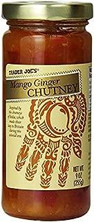 Trader Joe's Mango Ginger Chutney 9 oz (Case Of 3)