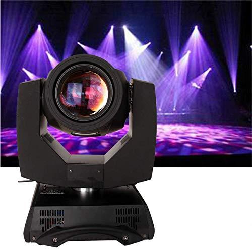 Yonntech Moving Head Led 230W Pro Beam 7R Beam DMX512 Bühnenlicht Bühnenstrahler 8 Kanäle/ 16 Kanäle Beam Musik Beleuchtungsprofi (16 Prisma)