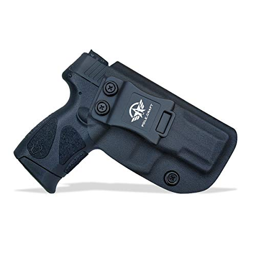 Taurus G2C Holsters IWB For Taurus G2C & Millennium PT111 G2 / PT140 Concealed Holster for Taurus G2C 9mm Gun - Kydex Holster Taurus PT111 G2C Concealed Carry Pistol Case (Black, Right Hand)
