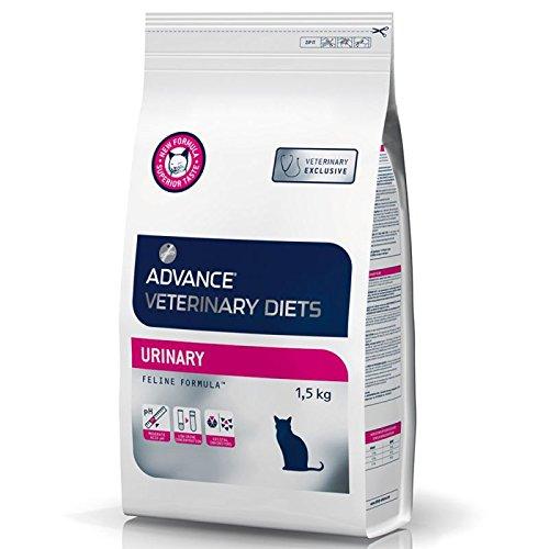 Advance Veterinary Diets Urinary Feline 8 kg Best Dietetic - Comida seca para gatos para ayudar a tratar las condiciones del tracto urinario incluyendo las piedras de estruvita