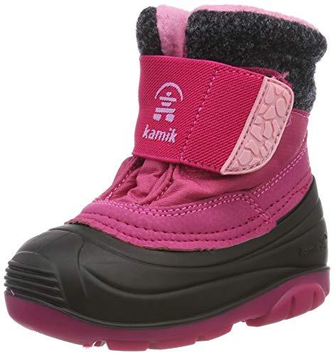 Kamik Unisex-Kinder Wren Schneestiefel, Pink (Rose Ros), 24 EU