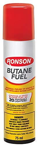 Ronson 99142 Multi-Fill Ultra Butane Fuel, 1.48 oz./42g
