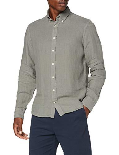 Hackett London Hkt Poplin Classic BC Camisa para Hombre
