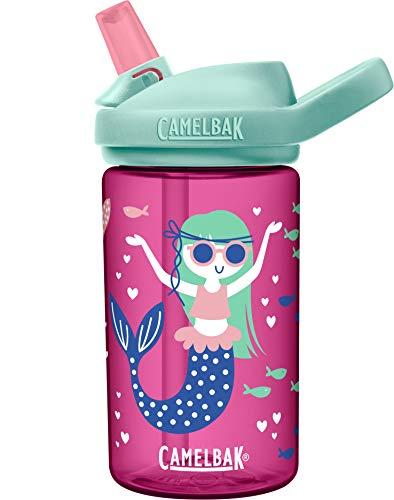 CAMELBAK Jungen Eddy Trinkflasche, Mermaids and Narwhals, 400 ml