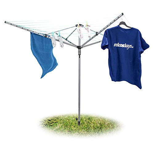 Preisvergleich Produktbild Relaxdays Wäschespinne