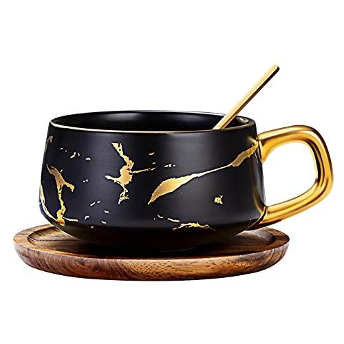Service à café et à thé en porcelaine, motif...