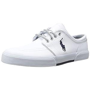 Polo Ralph Lauren Men's Faxon Leather Fashion Sneaker