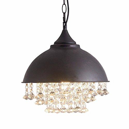 Koibless hanglampen van kristal met deksel van ijzeren vaas hanglamp hanglamp slaapkamer restaurant woonkamer lampen