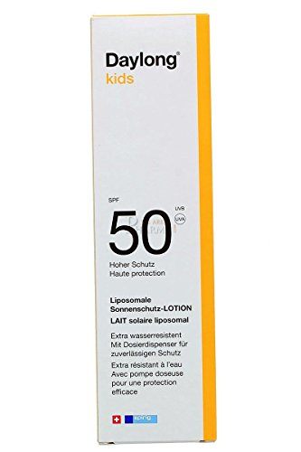 daylong kids spf 50 lotion dispenser 150 ml