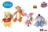 Grandi Giochi Peluche Winnie The Pooh assortito- Venta 1pz cm 20