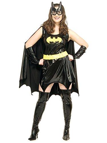 Batgirl Fancy Dress Costumes. Size 16 to 18