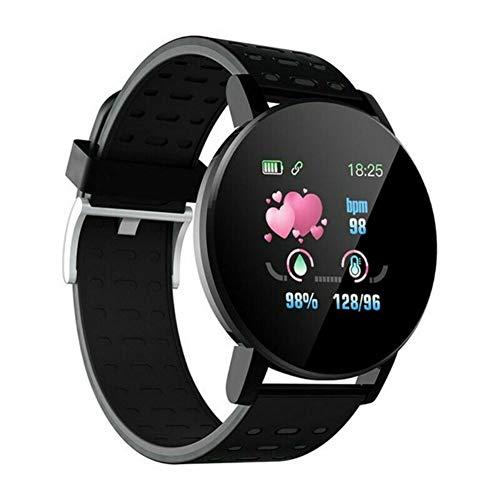 Reloj Inteligente, Smartwatch IP67 1.22 Pulgadas Pulsómetro, Monitor de Sueño, Presión Arterial,Pulsera Actividad Inteligente para Android iOS Hombre y Mujer