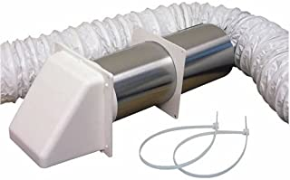 LAMBRO INDUSTRIES 205W Lambro Preferred hood Bathroom Vent Kit, 5 Pieces, 4 In X 5 Ft, 5'