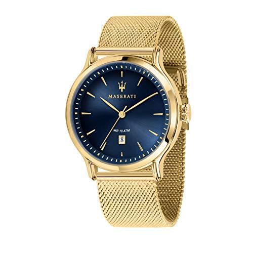 Orologio da uomo, Collezione Epoca, analogico, in acciaio e PVD oro giallo - R8853118014