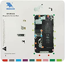 Deluxe Cell Phone Repair Tool Kits Compatible with iPhone 4S Magnetic Screws Mat, Size:20cm X 19cm Repair Kits